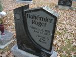 cimetière de St-Norbert au Manitoba : Roger Bohémier