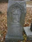 cimetière de St-Norbert au Manitoba : Charlotte et Adélaïde Bohémier