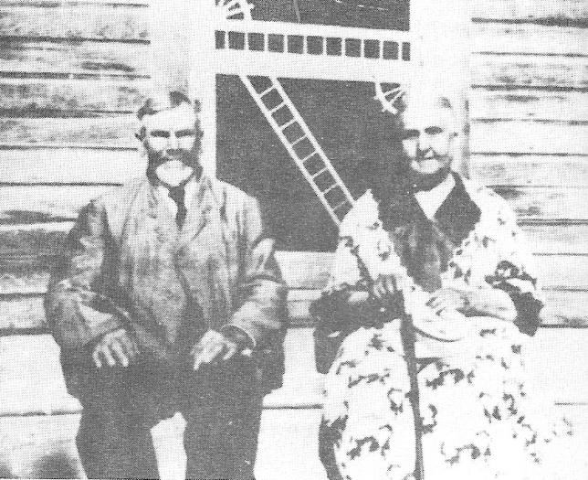 Benjamin et Marie-Louise en 1923