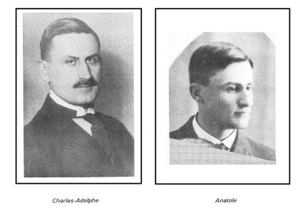 Charles et Anatole Bohémier