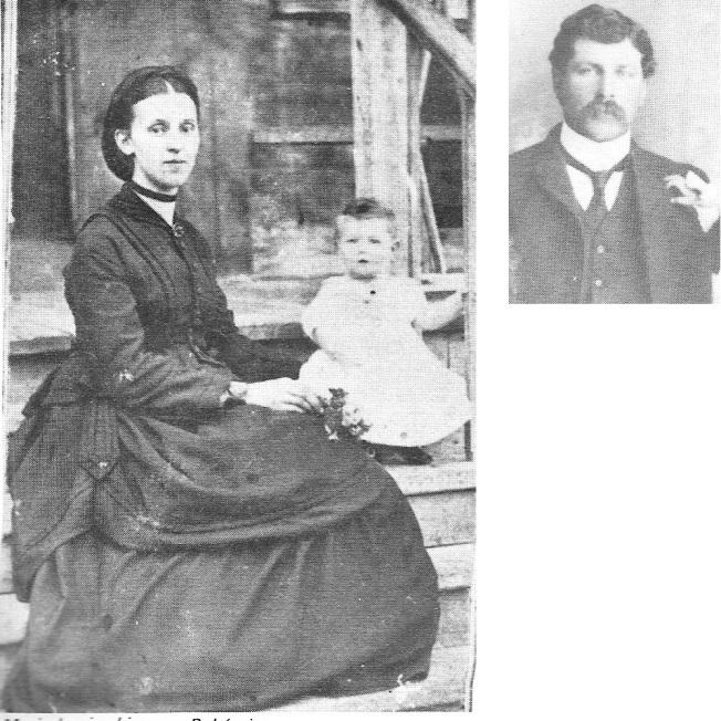 montage mère et enfant Bohémier
