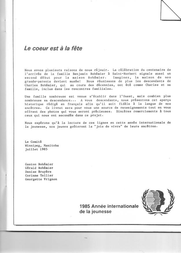 page 3 du document Bohémier 1884-1984