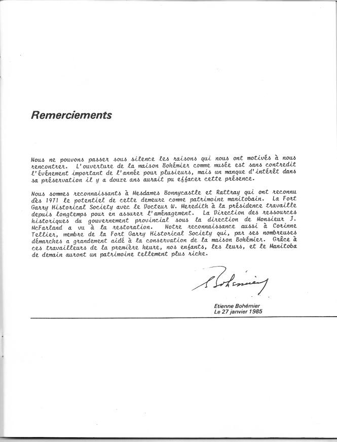 page 4 du document Bohémier 1884-1984