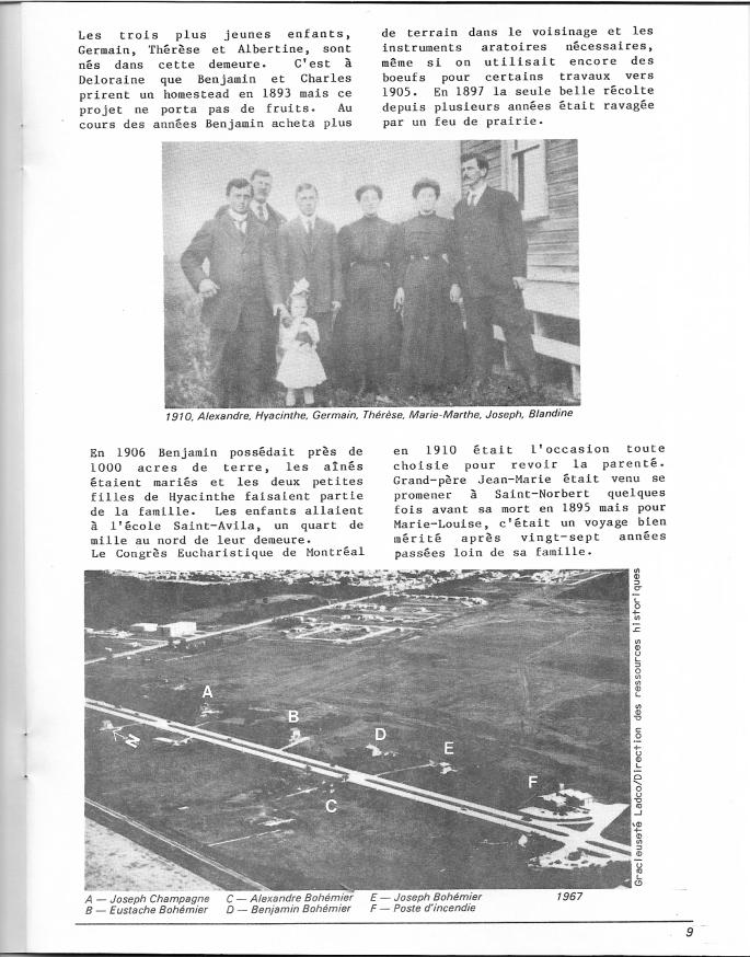 page 12 du document Bohémier 1884-1984
