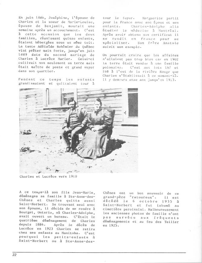 page 25 du document Bohémier 1884-1984