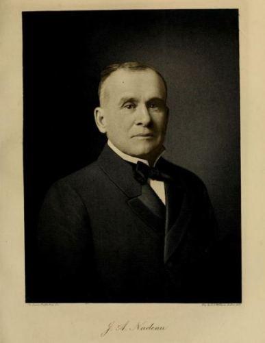 """Joseph Nadeau. Extrait de 'A History of Montana"""", volume 2, par Helen Fizgerald Sanders, p. 431"""