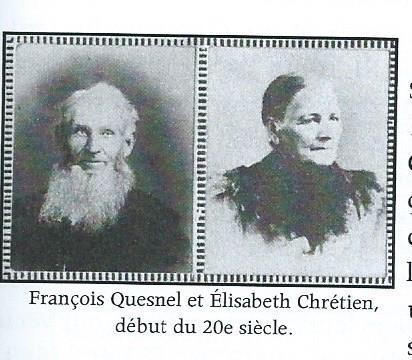 François Quesnel et Élisabeth Chrétien