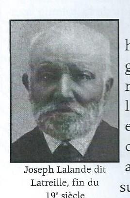 Joseph Lalande dit Latreille