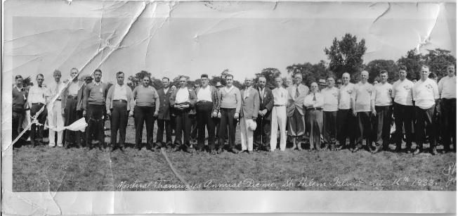 pique-nique 1933