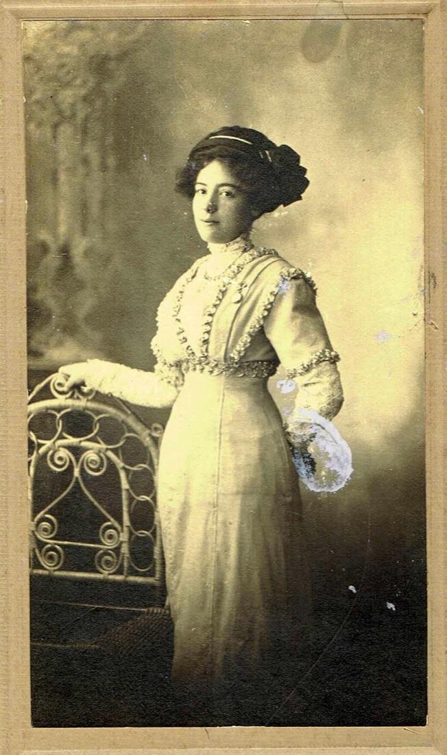 Alvine Beaudoin à 16 ans