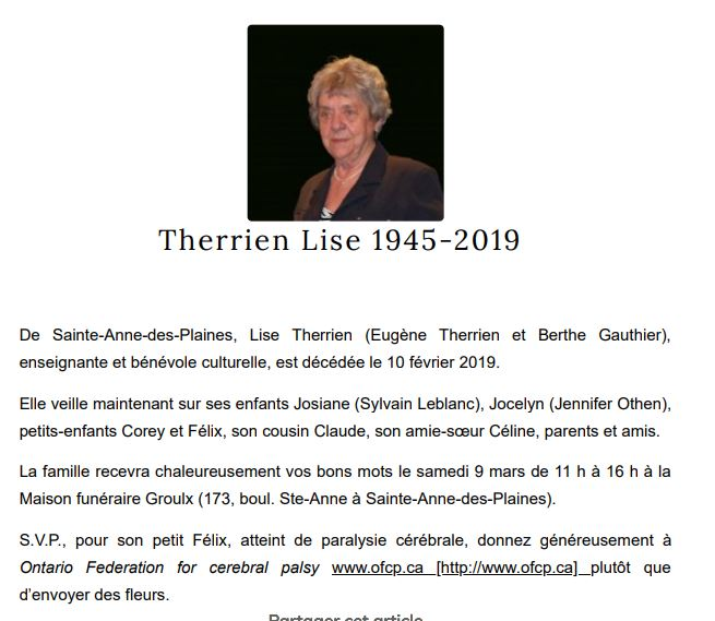 Lise Therrien