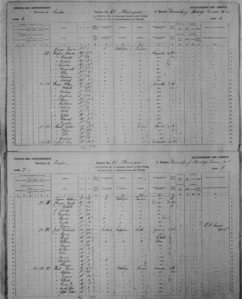 1881 famille Stanislas Lagassé (1)